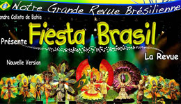 Spectacles Fiesta Brasil - Kalice Productions Nice