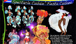 Spectacles Fiesta Cubana - Organisation Kalice Productions Nice